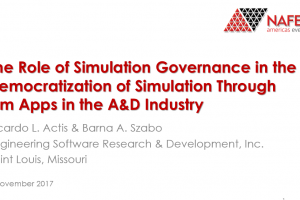 Why is Simulation Governance Essential for the Reliable Deployment of FEA-Based Engineering Simulation Apps?