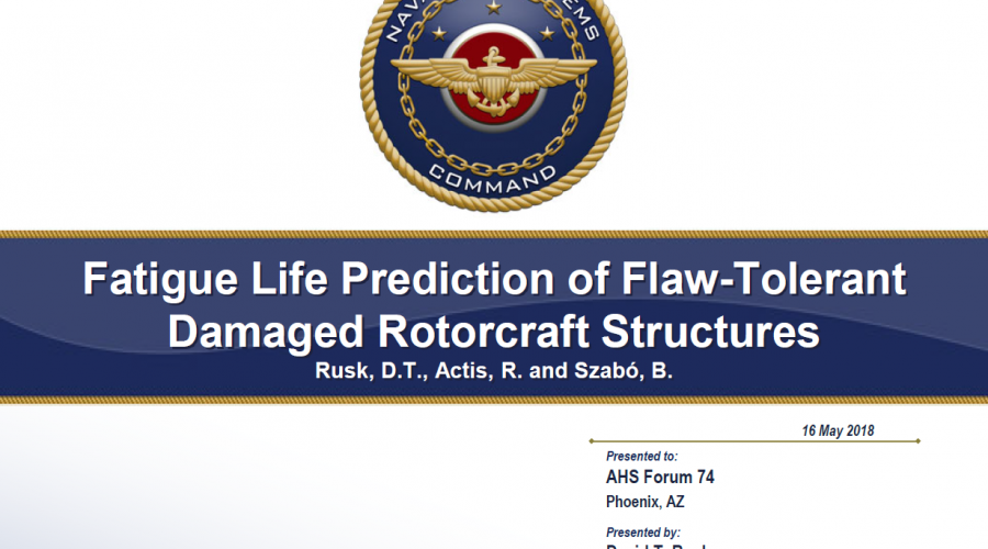 ESRD + NAVAIR Flaw-Tolerant Presentation Now Available
