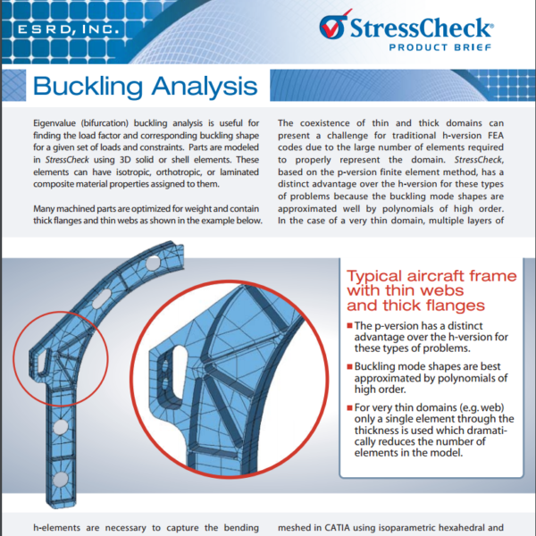 Buckling Analysis Product Brief | ESRD | Engineering Software