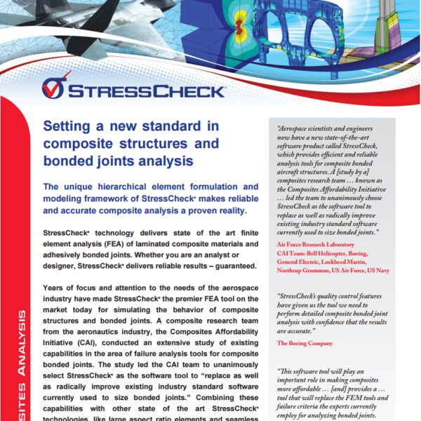 Composites Analysis Product Brief | ESRD | Engineering Software